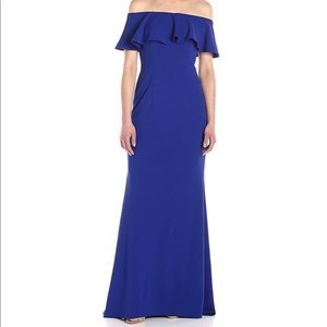 Adrianna Pappell off the shoulder gown